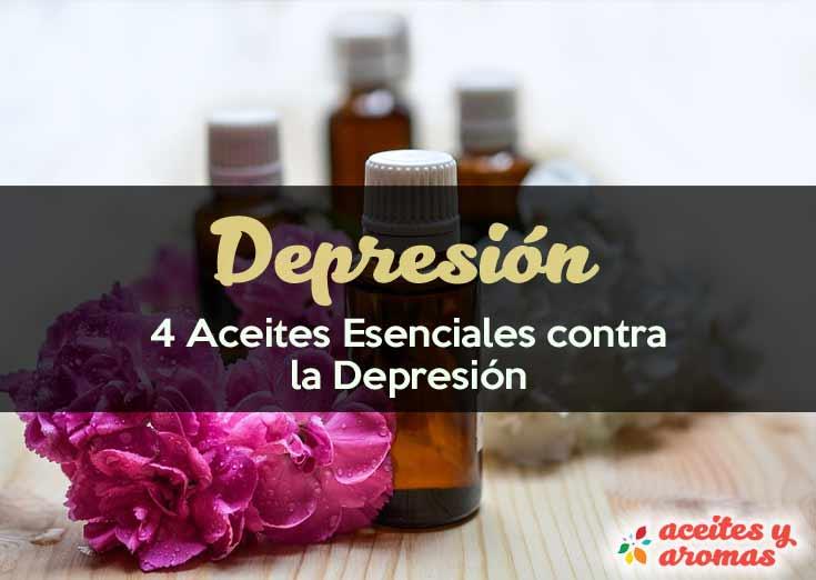 4 Aceites Esenciales contra la Depresión