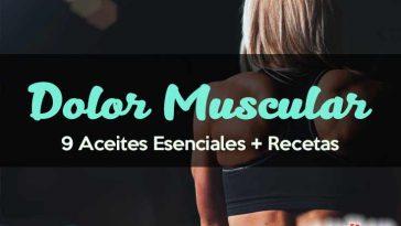 Aceites para el dolor muscular
