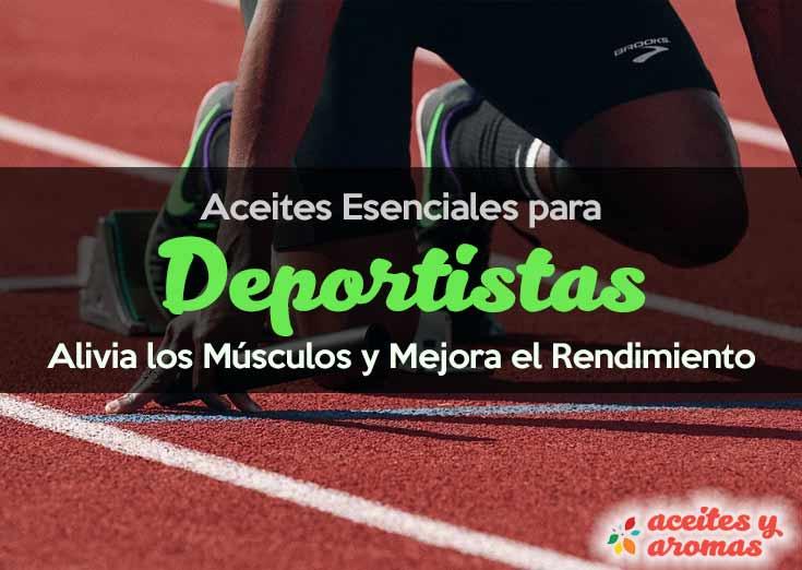Aceites Esenciales para Deportistas: Alivia los Músculos y Mejora el Rendimiento