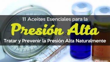 Aceites esenciales para la presión arterial alta