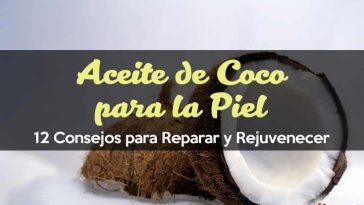 Aceite de coco para la piel