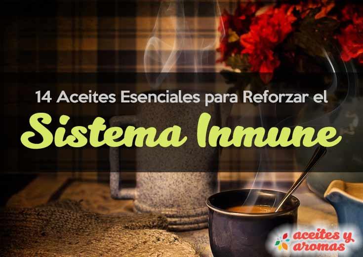 Aceites esenciales para sistema inmune