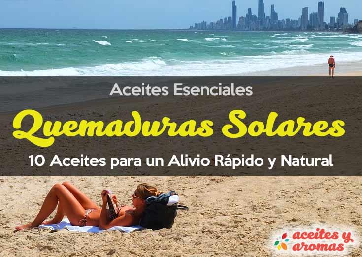 Alivia Quemaduras Solares