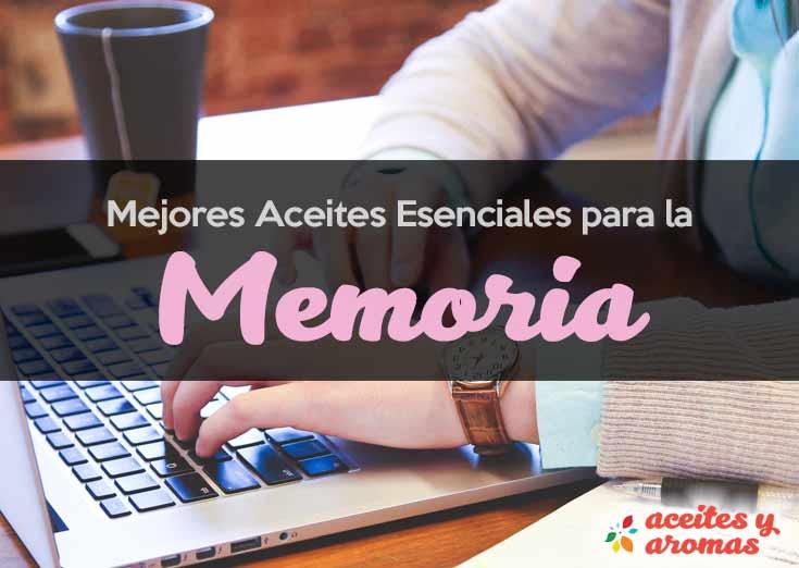 Aceites esenciales para la memoria