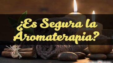 ¿Es segura la aromaterapia?