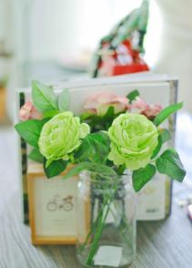 Esencias aromaticas con flores