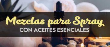 Recetas de Spray de Aceites Esenciales